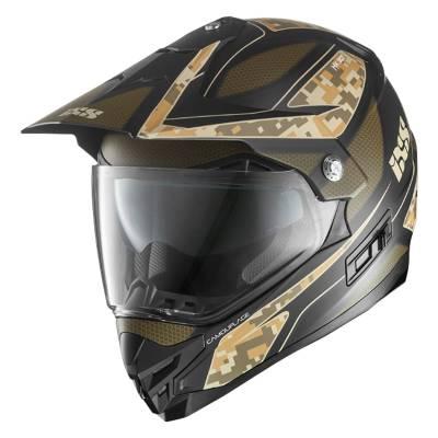 iXS Helm HX 207 Camouflage, grün-schwarz-matt