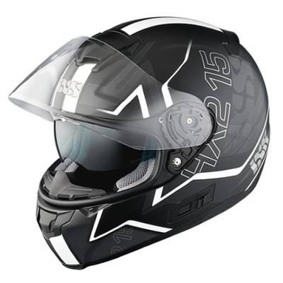 iXS Helm HX 215 Cloud, schwarz-weiß-matt
