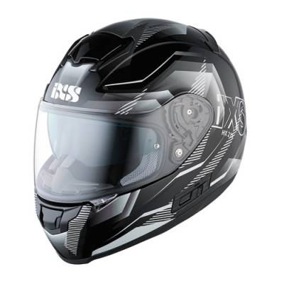 iXS Helm HX 215 Cristal, schwarz-grau