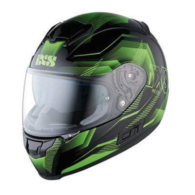 iXS Helm HX 215 Cristal, schwarz-grün