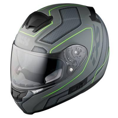 iXS Helm HX 215 Lazy, matt silber-gruen