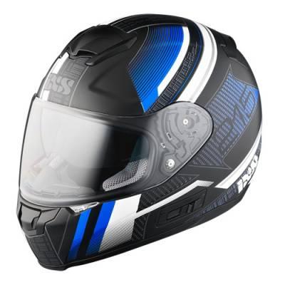 iXS Helm HX 215 Pixel, schwarz-blau matt