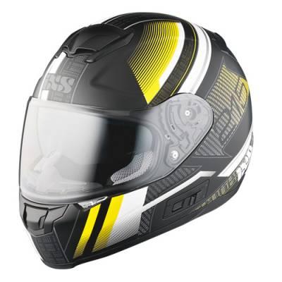 iXS Helm HX 215 Pixel, schwarz-gelb matt