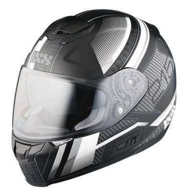 iXS Helm HX 215 Pixel, schwarz-weiß matt