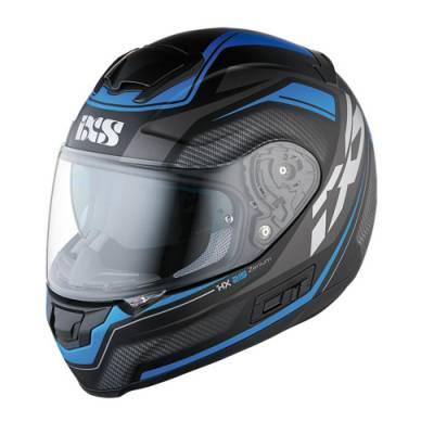 iXS Helm HX 215 Zenium, schwarz-blau matt