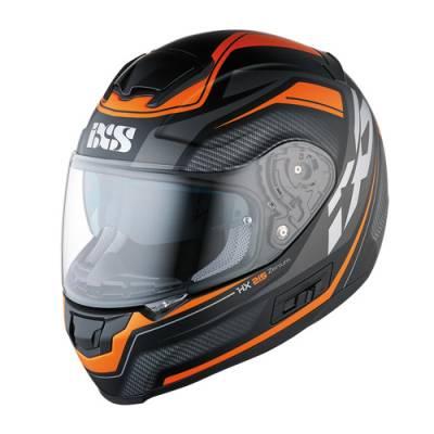iXS Helm HX 215 Zenium, schwarz-orange matt