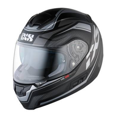 iXS Helm HX 215 Zenium, schwarz-silber matt