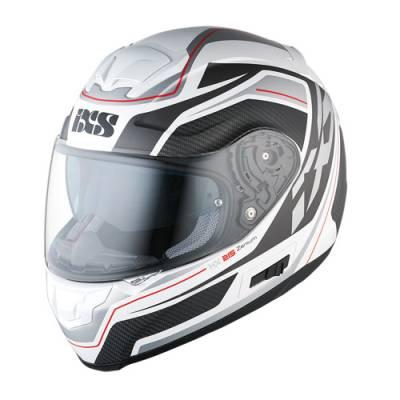 iXS Helm HX 215 Zenium, weiß-silber-matt