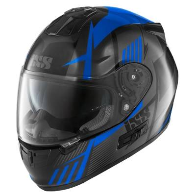 iXS Helm HX 444 Angle, schwarz-blau-grau