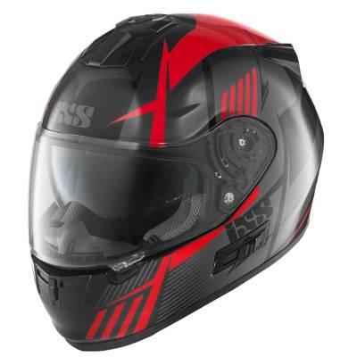 iXS Helm HX 444 Angle, schwarz-rot-grau
