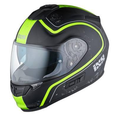 iXS Helm HX 444 Classic, schwarz-gelb matt
