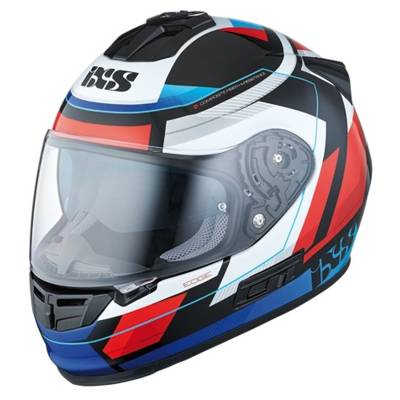 iXS Helm HX 444 Edge, schwarz-rot-blau