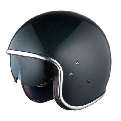 iXS Helm HX 70 Carbon, blau