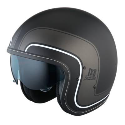 iXS Helm HX 78 Indiana, schwarz-weiß-matt