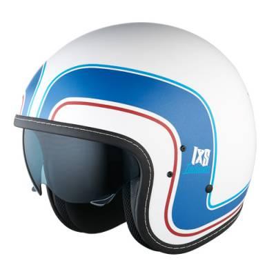 iXS Helm HX 78 Indiana, weiß-blau-matt