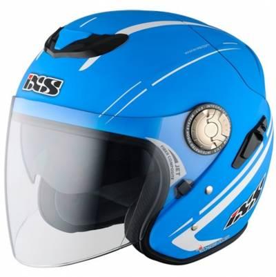iXS Helm HX 91 Boost, blau-matt