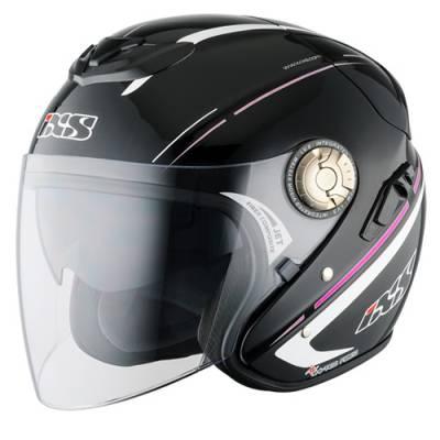 iXS Helm HX 91 Boost, schwarz-pink