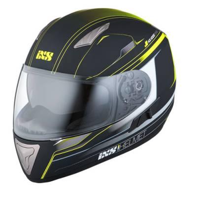 iXS Helm HX1000 Fork, schwarz-gelb matt