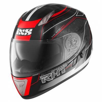 iXS Helm HX1000 Scale (17), schwarz-rot-grau
