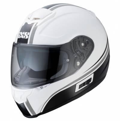 iXS Helm iXS-215 2.1, weiß-schwarz-silber