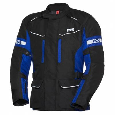 iXS Herren Textiljacke Evans-ST, schwarz-blau