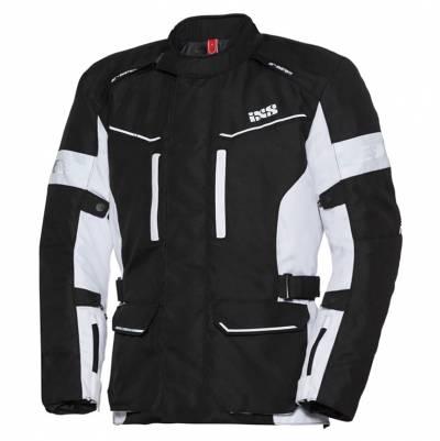 iXS Herren Textiljacke Evans-ST, schwarz-weiß