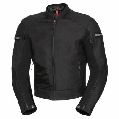 iXS Herren Textiljacke Tour-LT-ST, schwarz