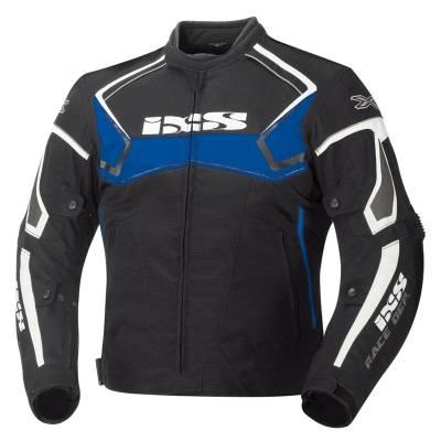 iXS Jacke Activo, schwarz-blau-weiß