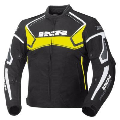 iXS Jacke Activo, schwarz-gelb-weiß