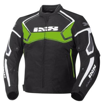 iXS Jacke Activo, schwarz-grün-weiß