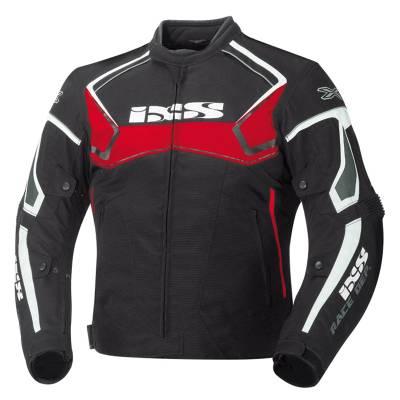 iXS Jacke Activo, schwarz-rot-weiß