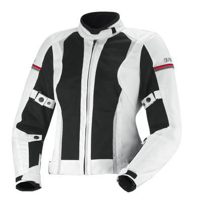 iXS Jacke Alva, weiß-schwarz-grau