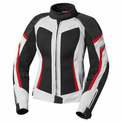 iXS Jacke Andorra, grau-schwarz-rot