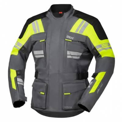 iXS Jacke Blade-ST 2.0, grau-gelb-schwarz