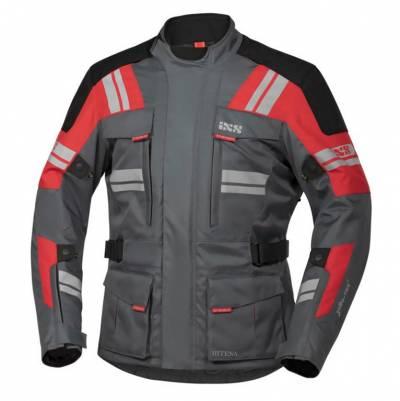 iXS Jacke Blade-ST 2.0, grau-rot-schwarz