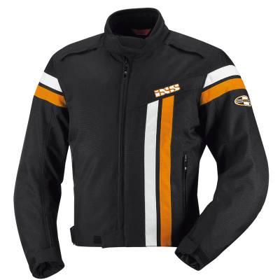 iXS Jacke Dutton, schwarz-weiß-orange