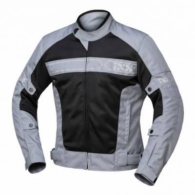 iXS Jacke Evo Air, grau-schwarz