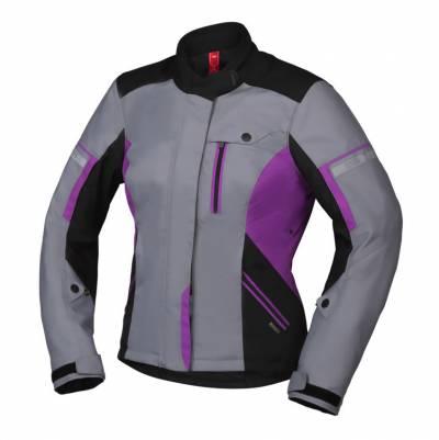 iXS Jacke Finja-ST 2.0 Damen, schwarz-grau-pink