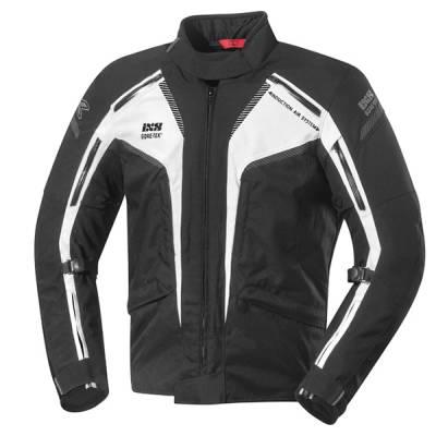 iXS Jacke Modesto GTX, schwarz-weiß