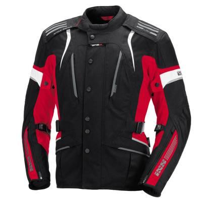 iXS Jacke Nemesis, schwarz-rot-weiß