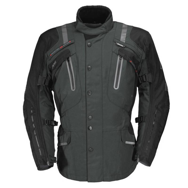 iXS Jacke Nimrod GTX, grau-schwarz