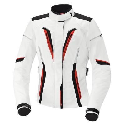 iXS Jacke Rina, weiß-schwarz-rot