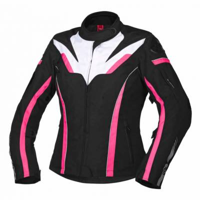 iXS Jacke RS-1000-ST Damen, schwarz-weiß-pink