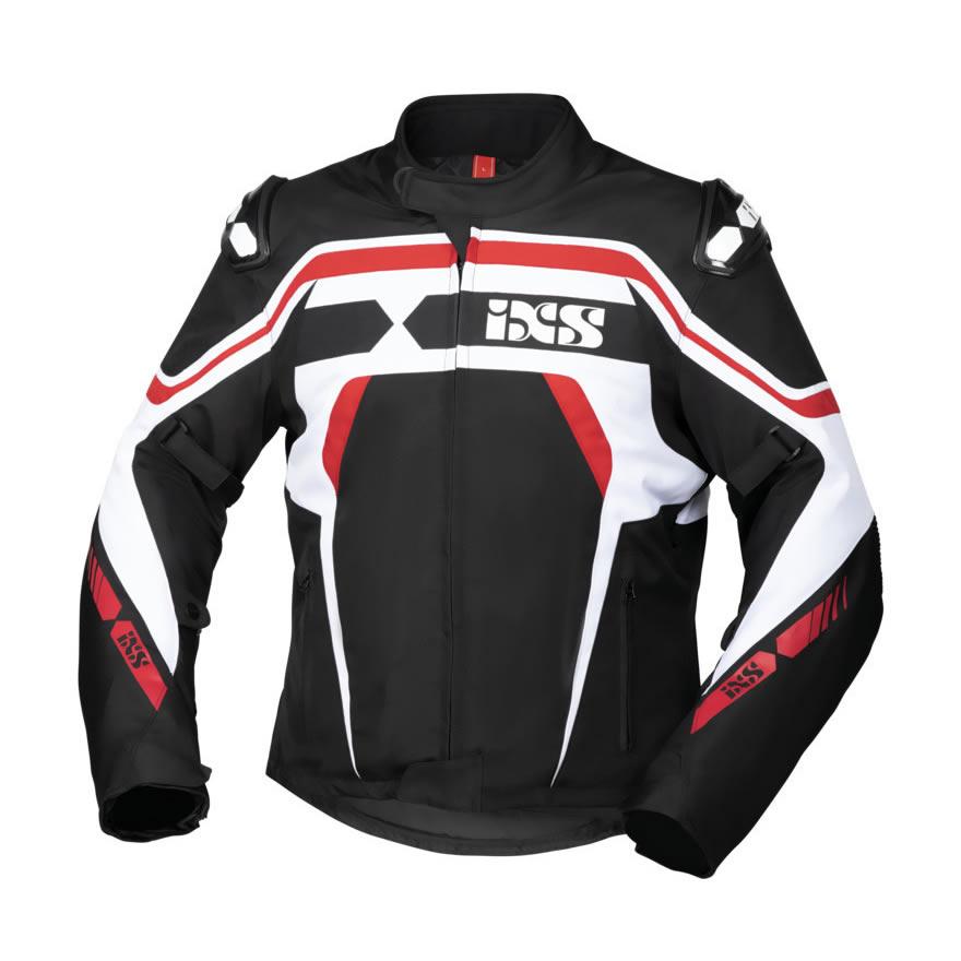 IXS RS-400-ST Herren Motorradjacke wasserdicht Sport Touring Jacke kurz