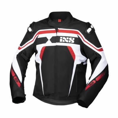 iXS Jacke RS-700-ST, schwarz-weiss-rot