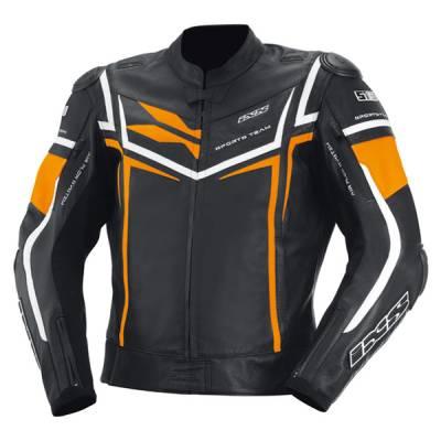 iXS Jacke Sting, schwarz-orange-weiß