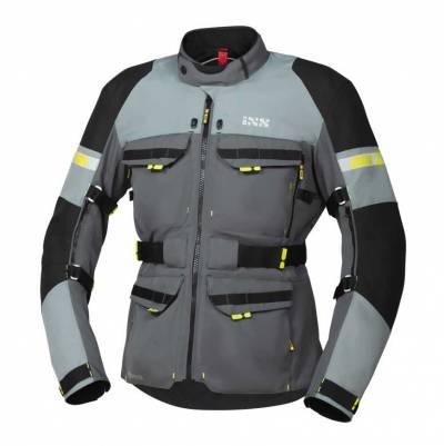 iXS Jacke Tour Adventure-GTX, grau-silber-schwarz
