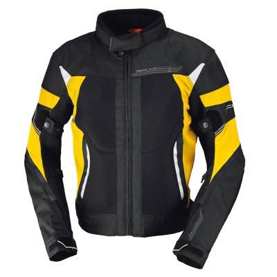 iXS Jacke Zephyros, schwarz-gelb