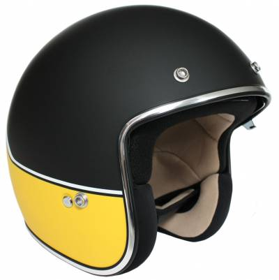 iXS Jethelm iXS-77 2.2, schwarz-gelb-weiß matt