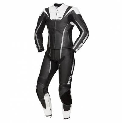 iXS Kombi RS-1000 Damen Zweiteiler, schwarz-weiß-silber